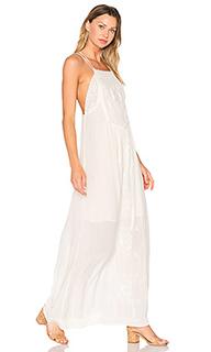Макси платье на шлейках odysseia - C&C California