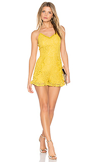Frill bottom detail lace romper - J.O.A.