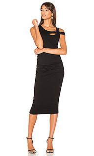 Платье с перекрестными шлейками - Michael Stars