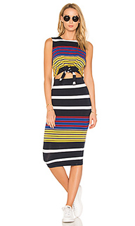 Multi stripe tie waist dress - KENDALL + KYLIE