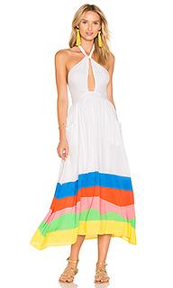 Миди-платье на шлейках - Mara Hoffman