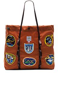 Большая сумка-тоут с винтажными накладками nasa - Epperson Mountaineering