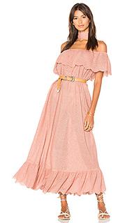Платье со спущенными плечами - Marysia Swim