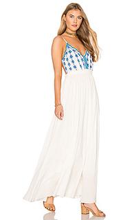 Платье-макси с открытой спиной riptide - Raga