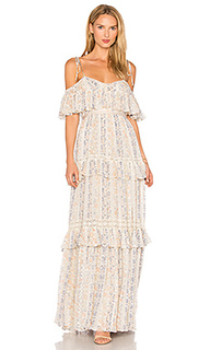 Floral stripe maxi dress - Needle & Thread