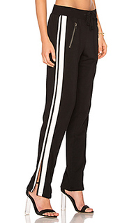 Zippered pant with side stripes - Pam & Gela