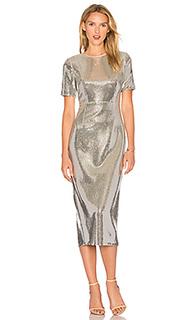 Платье с пайетками - Diane von Furstenberg