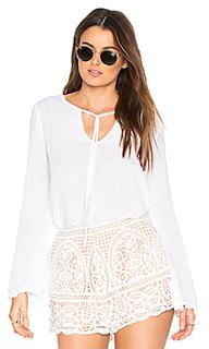Блуза с завязкой на шее - Bella Dahl