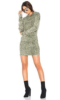 The monaco thermal hoodie mini dress - COTTON CITIZEN