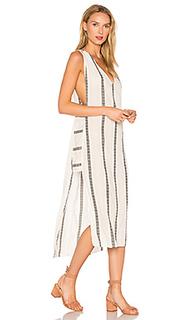Длинное платье в полоску luanna - Vix Swimwear