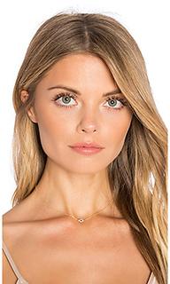 Diamond evil eye necklace - EF COLLECTION