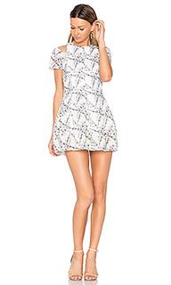 Платье с прорезями на плечах euphoria - ELLIATT
