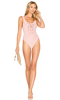 Terry lace up one piece - Mara Hoffman