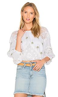 Блуза с вышивкой carolina mindset - Free People