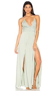 Макси платье ayanna - THE JETSET DIARIES