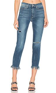 The charlie high rise fray hem crop - Joes Jeans