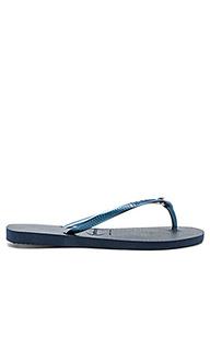 Slim crystal glamour sw sandal - Havaianas