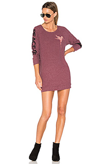 Bel long sleeve pullover sweatshirt dress - Lauren Moshi