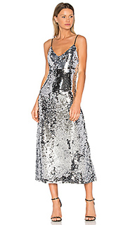 Sequins slip dress - OFF-WHITE