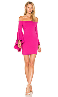 Платье со спущенными плечами - Susana Monaco