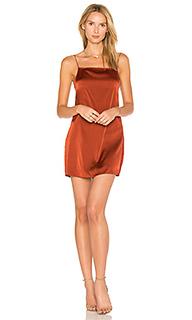 Шелковое платье-комбинация claudia - TROIS