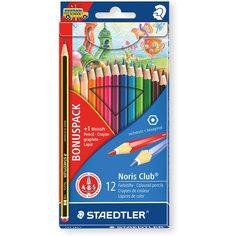 Карандаш цветной Noris Club набор 12 цветов Staedtler