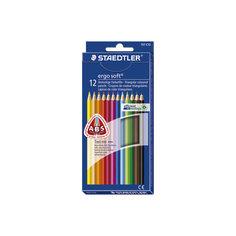 Staedtler Карандаши Цветные Ergosoft трехгранные 157, 12 цв.