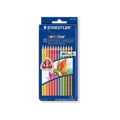 Staedtler Карандаши цветные NorisClub трехгранные, 12цв.