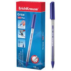 Ручка гелевая G-ICE, 12 шт., Erich Krause