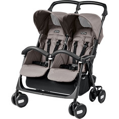 Прогулочная коляска для двойни Aria Shopper Twin,  Peg-Perego, Mod Beige