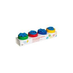 """Набор для детского творчества """"Пальчиковые краски со штампиками"""" Genio Kids"""