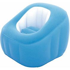 Кресло надувное, 74х74х64 см, голубое, Bestway
