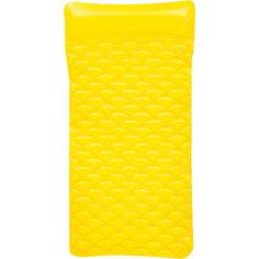 Матрас для плавания гибкий, 213х86 см, желтый, Bestway