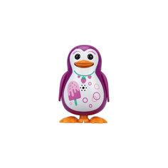 Поющий пингвин с кольцом, розовый, принт мороженое,  DigiBirds Silverlit