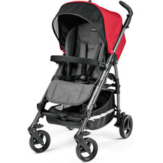 Коляска-трость Si Completo, Peg-Perego, Bloom Red