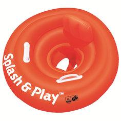 Круг для плавания с сиденьем, спинкой и ручками Splash&Play, 69 см, Bestway