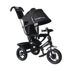 Трехколесный велосипед, регулир. спинка,черный, Lexus Trike LR