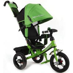 Трехколесный велосипед, регулир. спинка,зеленый,  Lexus Trike LR