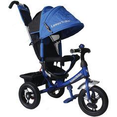 Трехколесный велосипед, регулир. спинка,синий, Lexus Trike LR