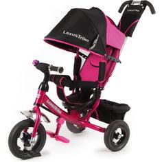 Трехколесный велосипед, регулир. спинка, розовый, Lexus Trike LT