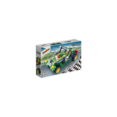 Конструктор Гоночная машина, зеленая, 128 дет., BanBao