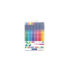Набор фломастеров Triplus Сolor, 26 цветов, трехгранные,  яркие цвета Staedtler