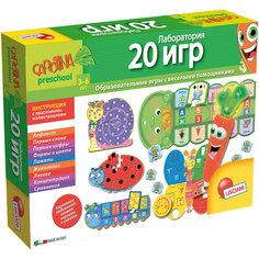 """Обучающая игра """"Лаборатория 20 игр с интерактивной морковкой"""", Lisciani"""
