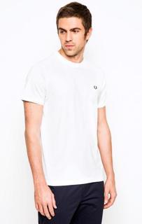 Белая футболка из хлопка Fred Perry