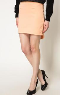 Короткая оранжевая юбка Bcb Generation