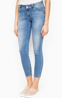 Укороченные синие джинсы Kocca
