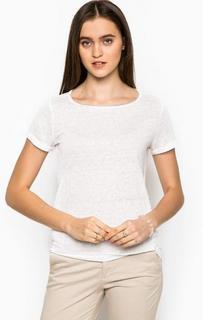 Белая футболка с металлическим декором Kocca