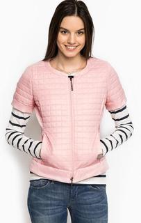 Розовая куртка с короткими рукавами Liu Jo