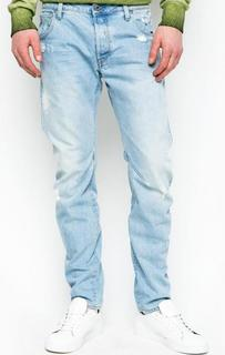 Рваные джинсы с вышивкой G Star RAW