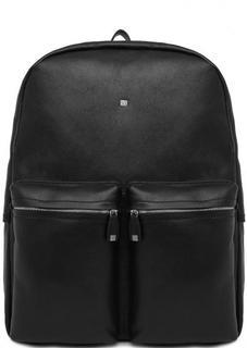 Кожаный рюкзак с карманами Sergio Belotti